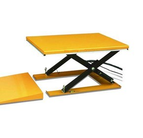 Low Profile Electric Scissor Lift Table (including the Ramp)