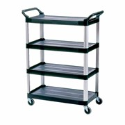 4 Shelf Cart | Rubbermaid 4096