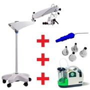 Ear Toilet Pro: Microscope, Suction Unit | EARTOILETPACKPRO