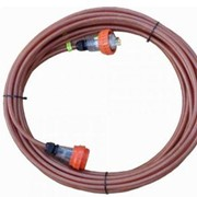 3 Pin 15A Braided Industrial Extension Lead Electrical Cable