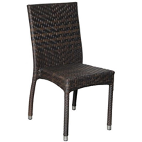 Rattan Dining Chair | Palm Side