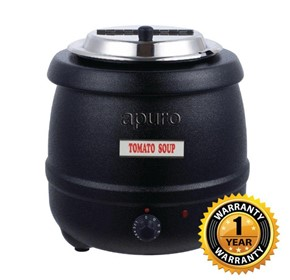 Apuro Black Soup Kettle – L715-A