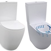 Rimless Toilet Suite | Washroom Fitting