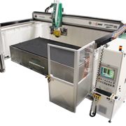 Combination Cut & Jet Shuttle Cutting Machine