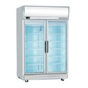 Upright 2 Door Glass Door Commercial Fridge GD1000LF