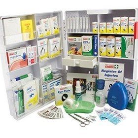 First Aid | Food Preparation First Aid Kit ABS Plastic Wall Mountable