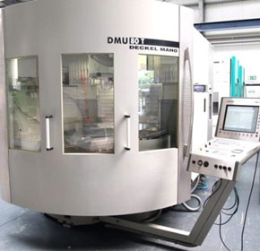 Used Near New CNC Universal Milling Machine - Deckel Maho DMU 80T