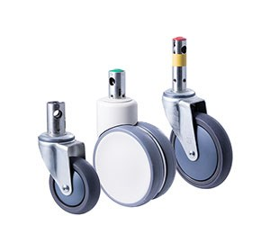 Fallshaw Central Locking Hospital Bed Castors
