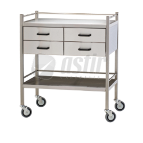 Four Drawer Trolley | Fortress