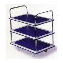 3-Tier Industrial Quality Trolley | Signature Series