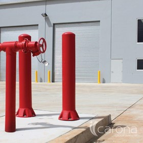Bollards Impact Protection