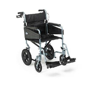 Wheelchair, Escape Lite - Self Propelled, Standard, Silver Blue