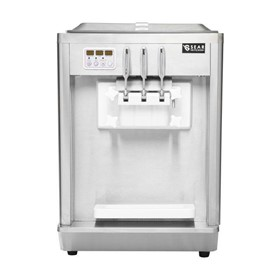 Soft Serve Ice Cream Machine – Frozen Yoghurt – 3 Flavour