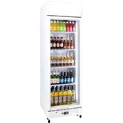 Schmick | 1 Glass Door Bar Fridge Upright Commercial | HUS-C500X