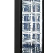 Rhino Black Commercial Upright Triple Glass Door Bar Fridge