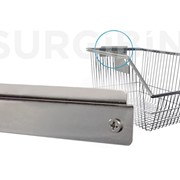 Wall Bracket SURGIBIN® for Wire Baskets