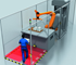 Cooperation, on the other hand, is when humans and machines work in a shared workspace but at different times. An example of this type of work situation is a transfer station for assembly robots.