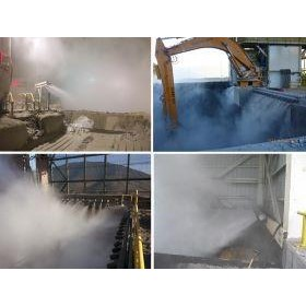 Dry Fog Dust Suppression - Dry Fog for ROM Bin Dust