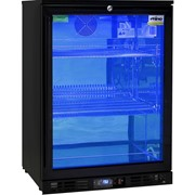 Rhino Night Club Commercial Multi Light Colored 1 Door Bar Fridge