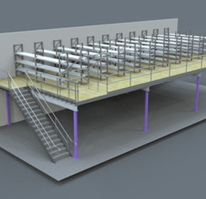 Warehouse Mezzanines | Freestanding Mezzanine Floors