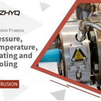 Pressure, Temperature, Heating and Cooling Control of Extrusion