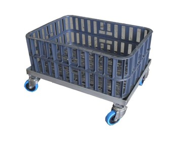 Nally Poultry Crate With Optional Dolly