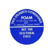 Identification Sign - Foam Fire Extinguisher
