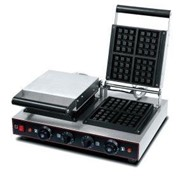 Electric Double Square Plate Waffle Maker