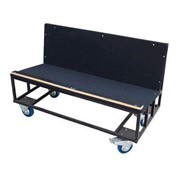 Carpeted Table Trolleys - Tente | Shelf Trolleys