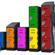 Custom Made Storage Plastic Lockers | B Series