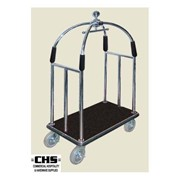Luggage Trolleys | Birdcage SS 304 with Brake 50MM H1980XL1140XW680