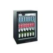 Single Glass Door Backbar Chiller