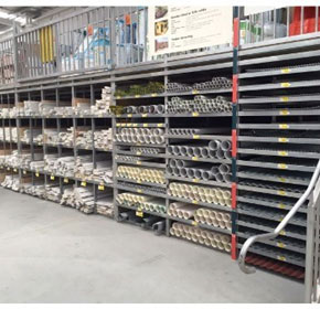 Pigeon Hole Racking Systems