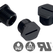 V-0 NPT Liquid Tight Threaded Plugs