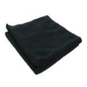 Microfibre Cloth BLACK 40x40cm pkt 5
