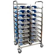Meal Delivery Trolley 9 Tier