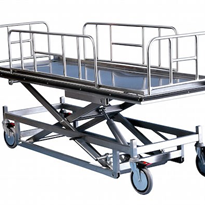Electric Battery Mortuary Lifter Trolleys | Rapini