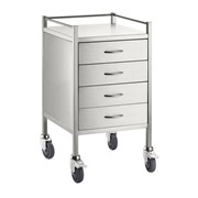 Rounds Trolley S/S 4 Draw 50x50x90CM