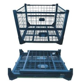 Pallet Cage Storage/Collapsible/Stackable- 1000kg MWC7