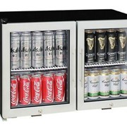 Schmick Low Profile Alfresco Triple Glazed Glass Door Bar Fridge