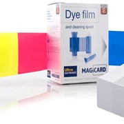 Magicard Dye Film & Cleaning Spool | 250 Prints | Printer Ribbons