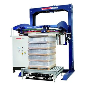 FA8 Series Automatic Inline Ring Stretch Wrapping Machine