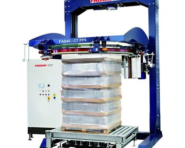 FROMM FA8 Automatic Inline Ring Stretch Wrapping Machine