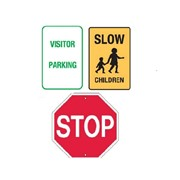 Signet's Traffic Sign Range