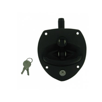 "Black Polyamide Drop ""T"" Lock"