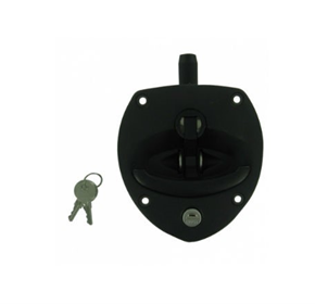 "Black Polyamide Drop ""T"" Locks"
