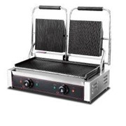Electric Panini Double Contact Grill
