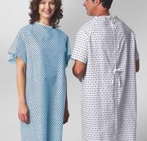 Patient Gowns | Geo Print