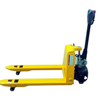 Semi-Electric Pallet Jack | 1500 KG Capacity