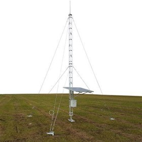 Aluminium Guyed Lattice Tower | AL220 Ground Mounted